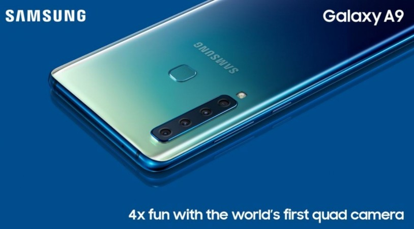 Samsung Galaxy A9 with quad rear-camera India launch details leaked: Quick facts - IBTimes India
