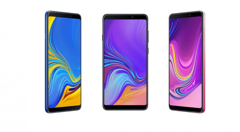 Samsung, Galaxy A9, quadruple, camera