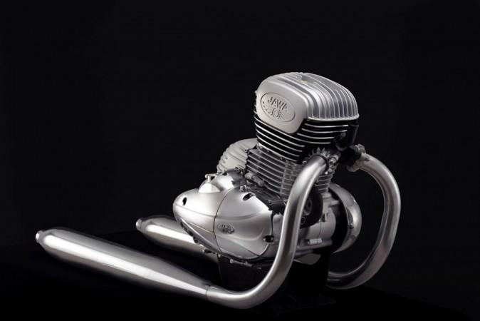 Jawa 300cc engine