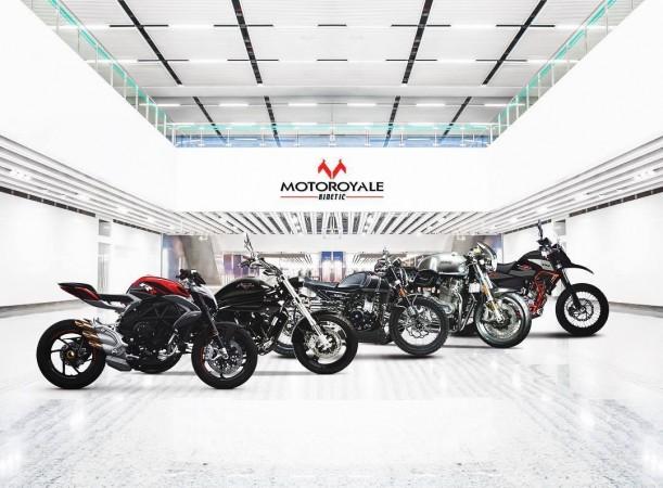 Kinetic's Motoroyale big bikes