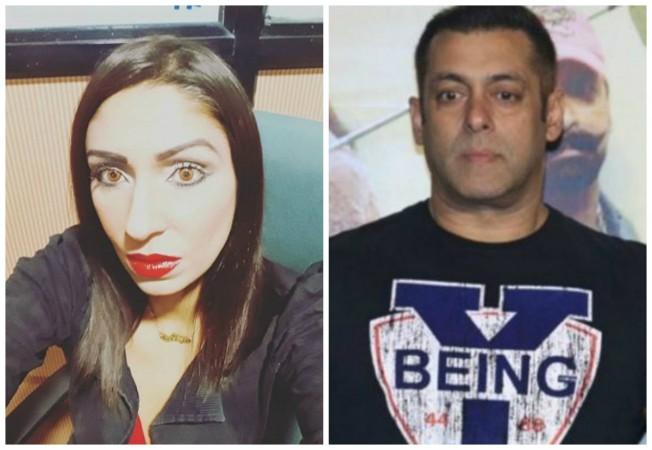 Pooja Mishra accuses Salman Khan of raping her
