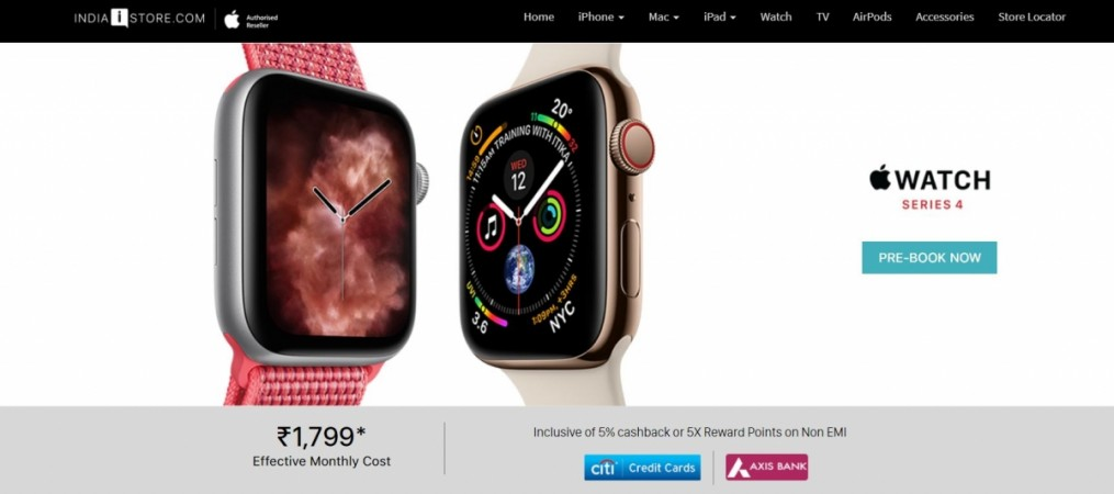 Apple, Watch Series 4, India, launch, price, specs