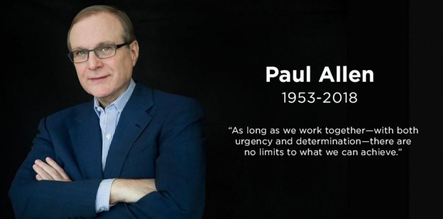 Mircosoft, Paul Allen, co-founder, death
