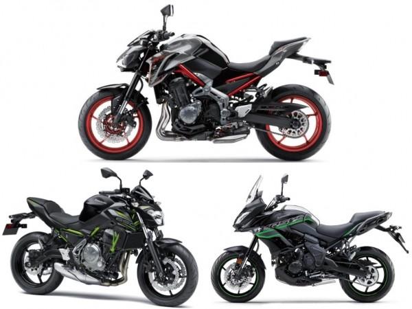 2019 Kawasaki models