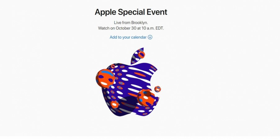 Apple Special Event, 2018, October, iPad Pro 2018,