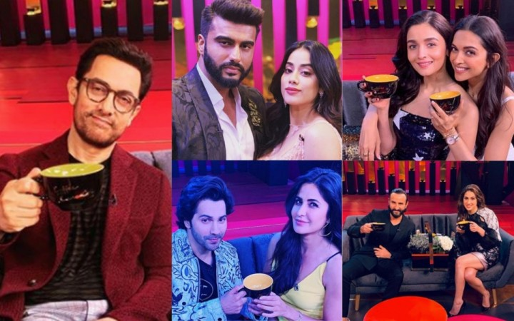 Guests on Koffee with Karan 6.