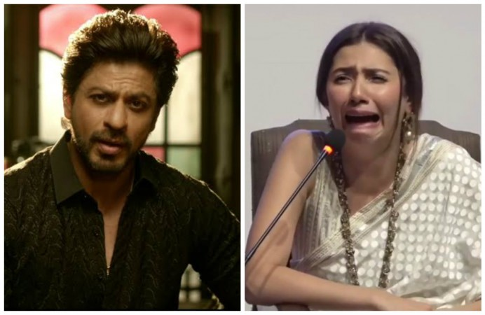 Shah Rukh Khan and Mahira Khan