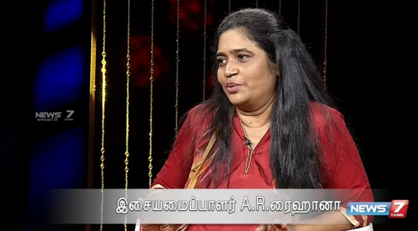 AR Reihana speaks about Chinmayi's allegation on Vairamuthu