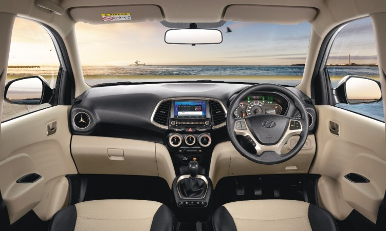 Interior of new Hyundai Santro