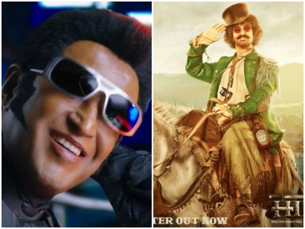 Rajinikanth and Aamir Khan