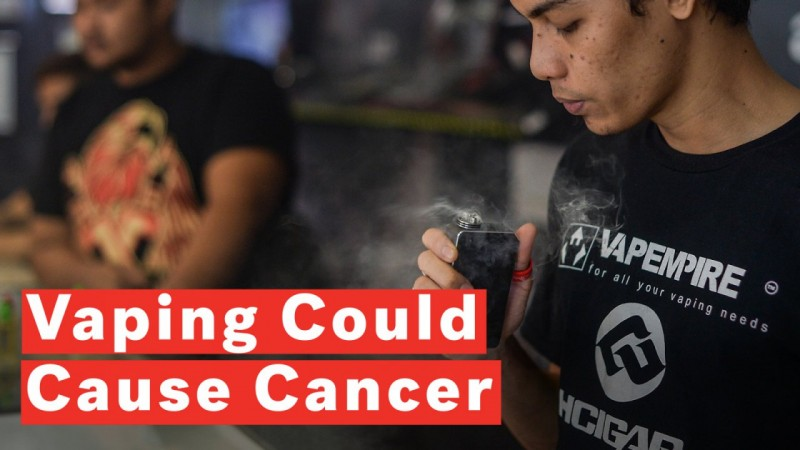 Vaping Could Raise Risk Of Cancer