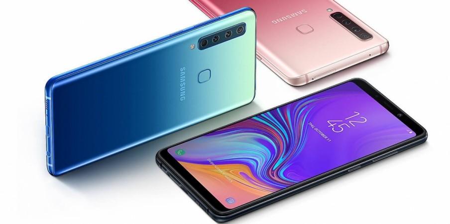 Samsung, Galaxy A9, quadruple, camera