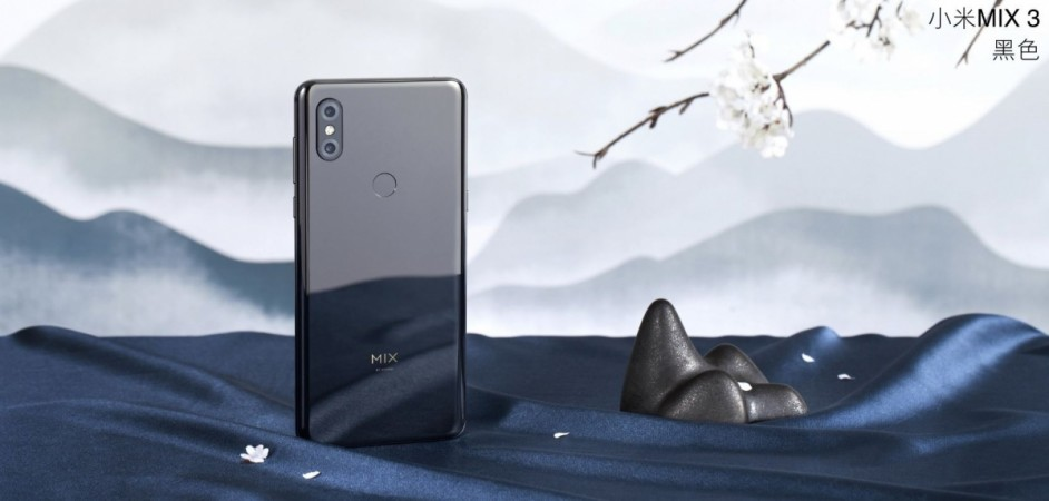 Xiaomi Launches Mi Mix 3 With Sliding Front Camera 10gb