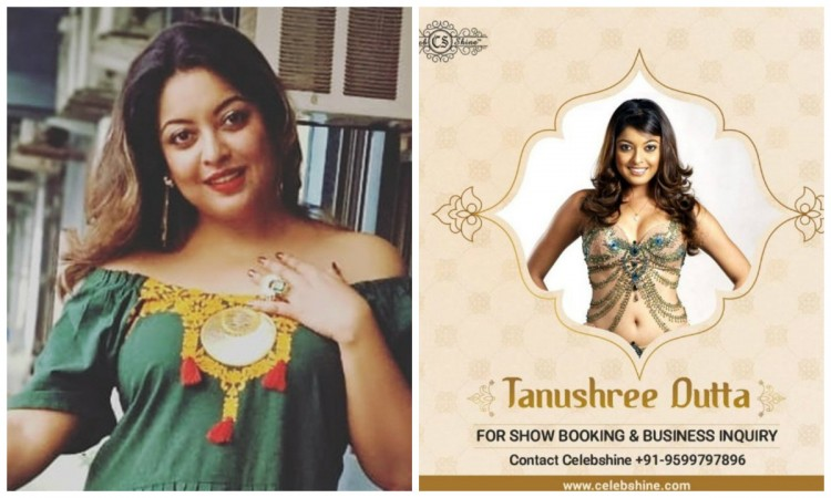 Tanushree Dutta accused of misusing MeToo movement for publicity