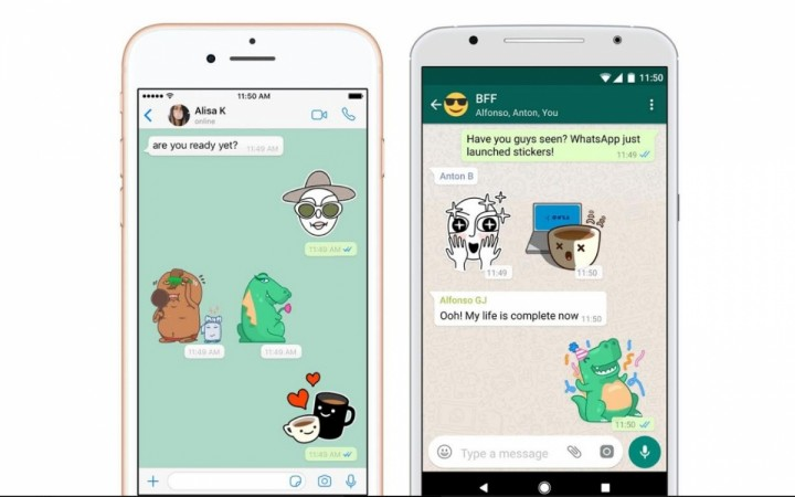 WhatsApp, stickers, Google, Android, Apple,iOS