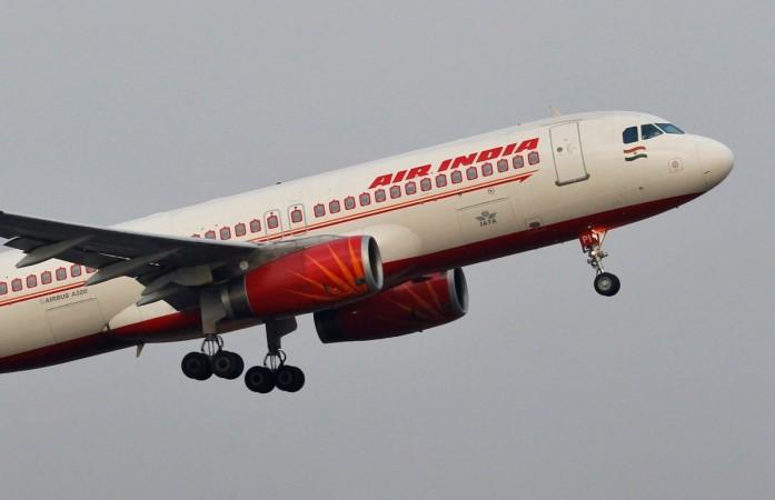 Air India Airbus A320 passenger aircraft.