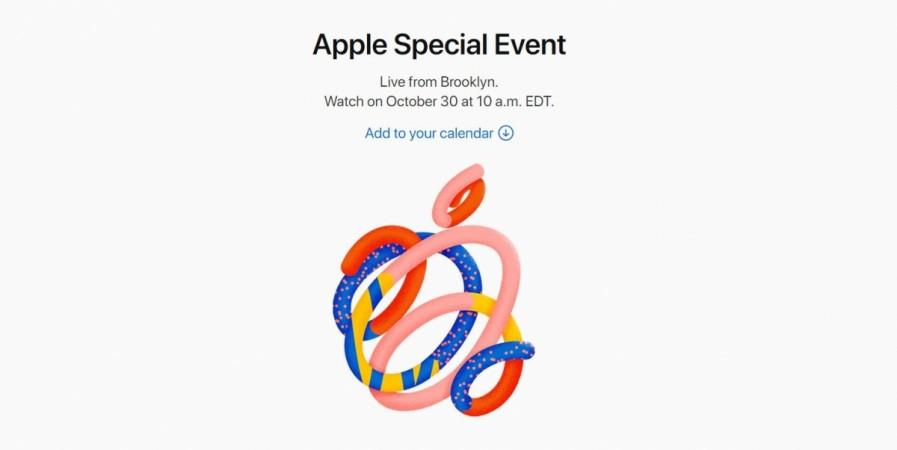 Apple, Special Event, October 2018, iPad Pro, MacBook Air 2, Mac Mini, launch