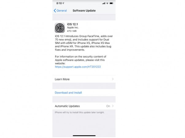 Apple, iOS 12.1, update, new Emoji, Dual SIM, Depth Control real-time,