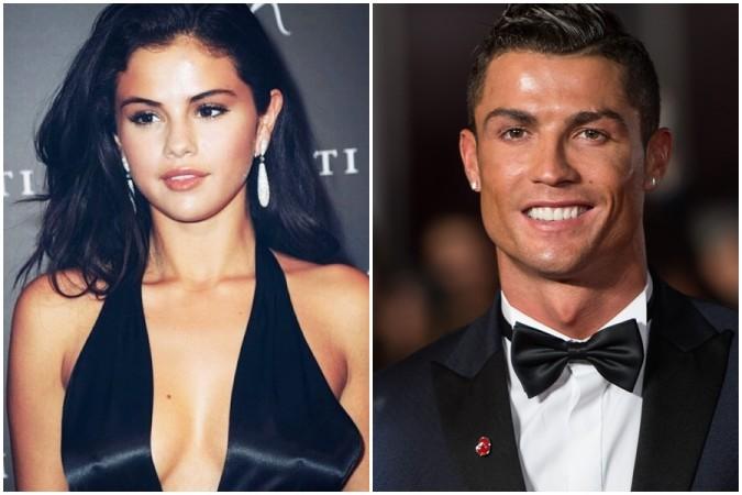Selena Gomez and Cristiano Ronaldo