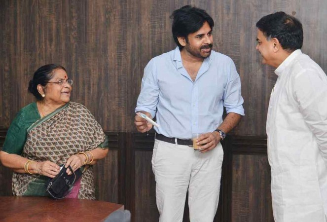 Pawan Kalyan's mother donation