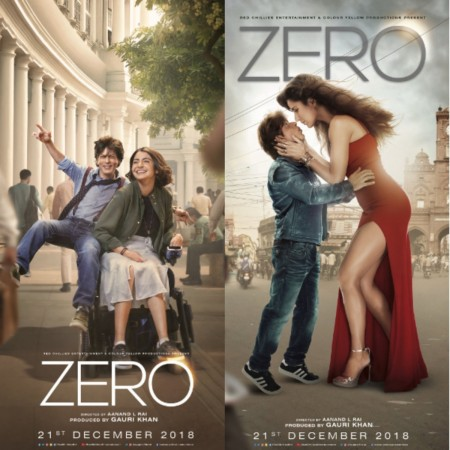 Shah Rukh Khan, Anushka Sharma and Katrina Kaif in Zero