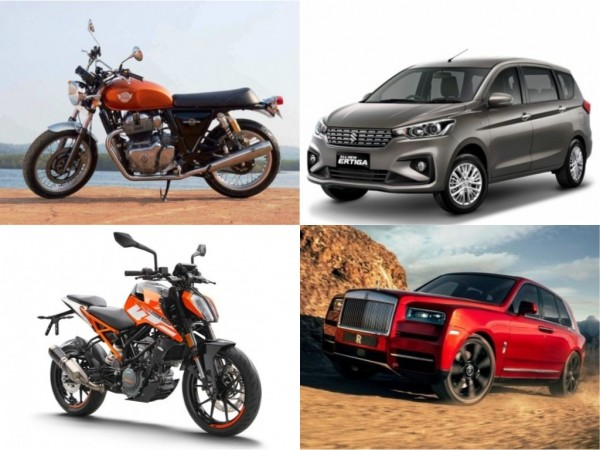 November 2018 car and bike launches