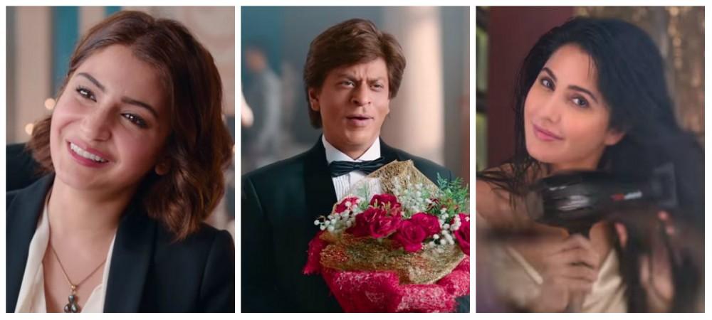 Zero movie cast - Shah Rukh Khan, Anushka Sharma and Katrina Kaif