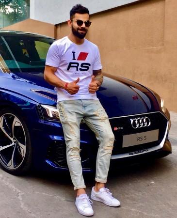 Audi RS 5,  Virat Kohli