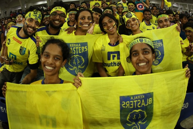 Kerala Blasters fans