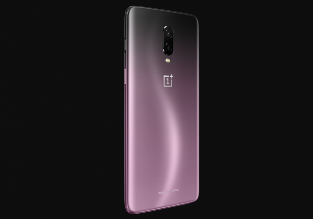 OnePlus 6T in all-new gradient finish