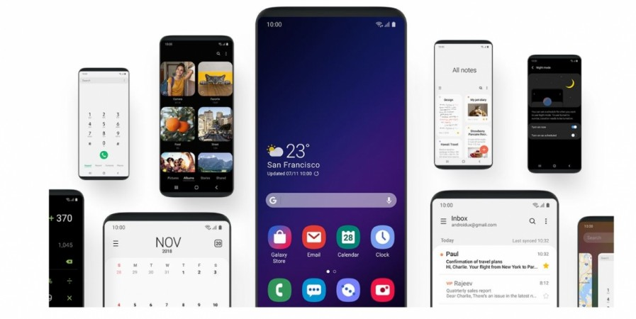 Samsung, One UI, Android Pie, Samsung Developer Conference