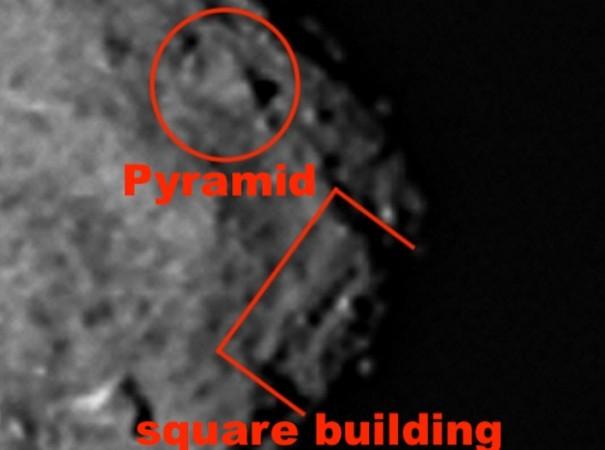 Bennu asteroid alien structures