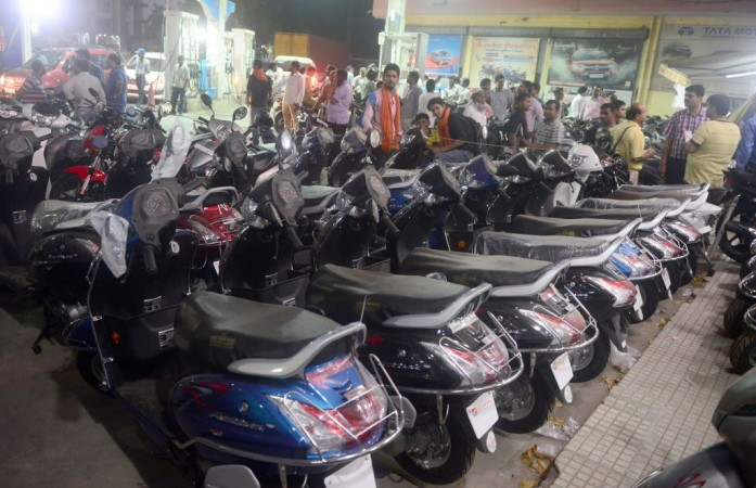 Two-wheeler sales