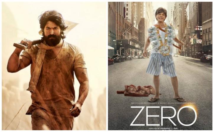 Shah Rukh Khan's Zero to clash with Yash starrer KGF