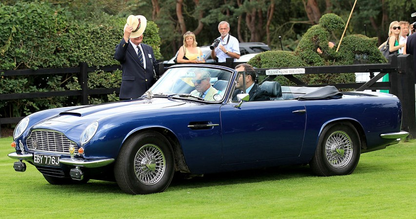 Prince Charles, Aston Martin
