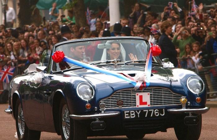 Prince William, Aston Martin, British Royal Family