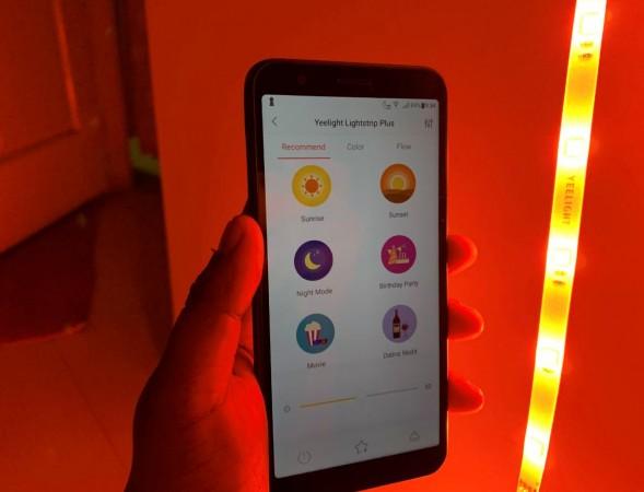 Yeelight, Aurora Lightstrip Plus, review, price,India