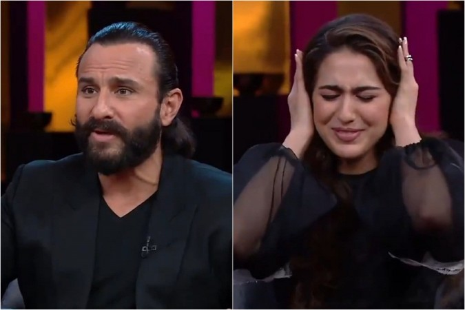 Saif Ali Khan, Sara Ali Khan, Koffee with Karan