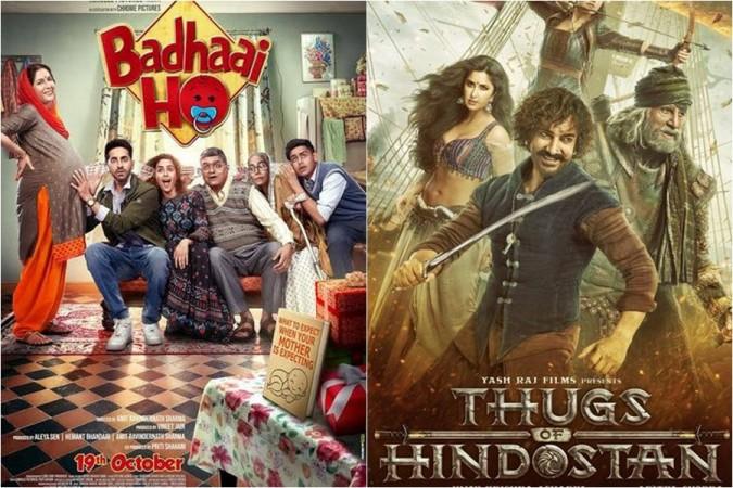 Badhai Ho and Thugs of Hindustan