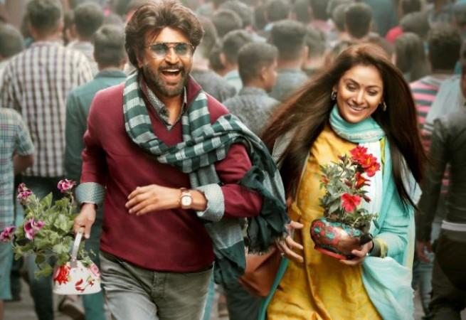 Rajinikanth and Simran in Petta