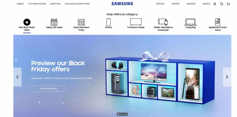Samsung, Black Friday Sale, 2018,deals