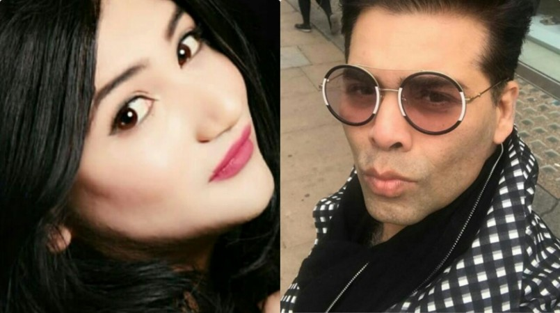 Mahika Sharma wants to punish Karan Johar for insulting Assamese headgear.