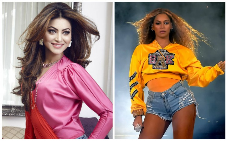 Urvashi Rautela and Beyonce