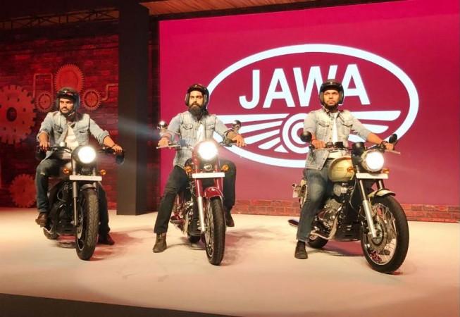 2018 Jawa Motorcycles