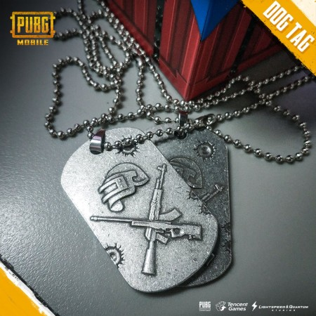 PUBG-themed dog tag to be won