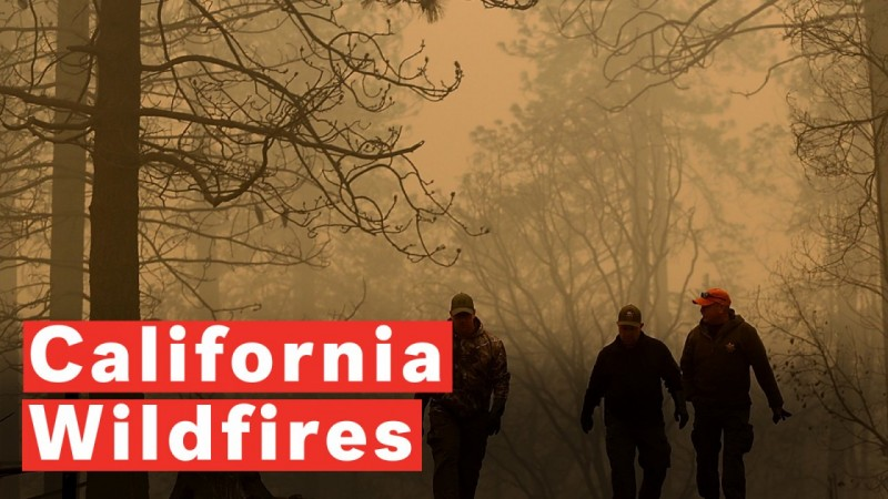 California Wildfires: More Thank 1000 Missing And Air Pollution Worst In The World
