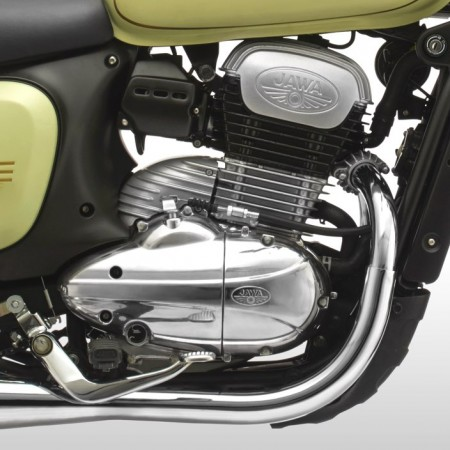 Jawa Forty Two - Engine