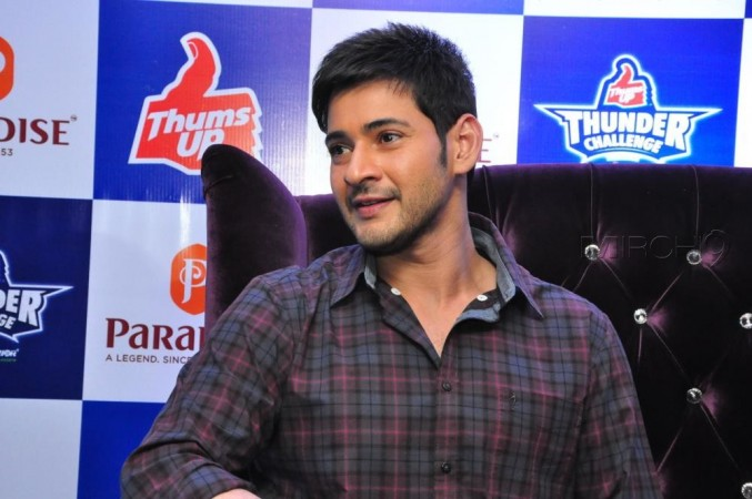 Mahesh Babu at Thums Up promotion