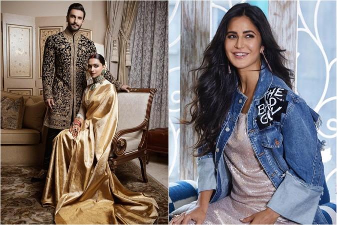 Ranveer Singh, Deepika Padukone, Katrina Kaif