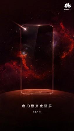 Huawei teases Nova 3S with Infinity O-style display